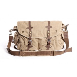 khaki Over the shoulder bag