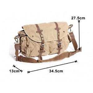 khaki messenger bags for men