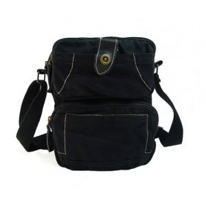 black Military messenger bag
