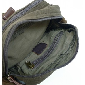 army green Military messenger bag