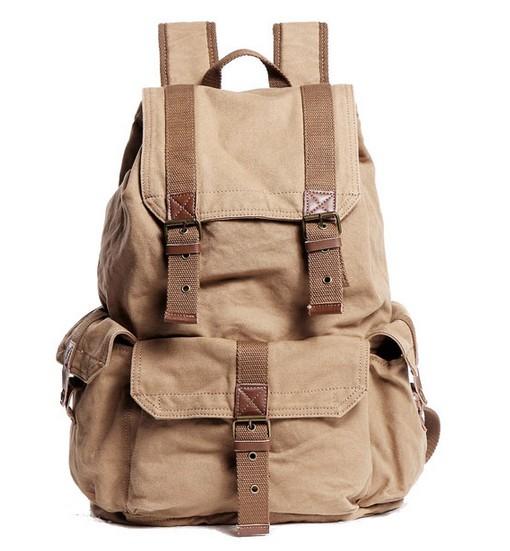 Awesome backpack, canvas knapsack backpack