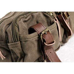 army green man fanny pack