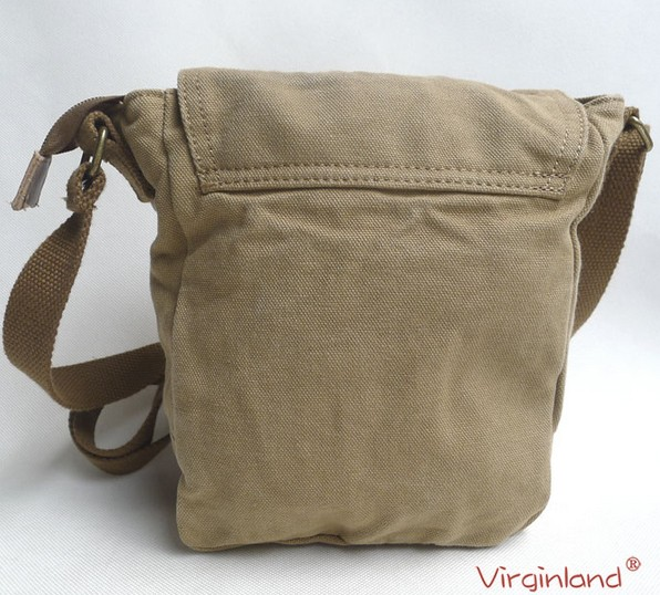 Canvas Messenger Bag Khaki Small Bags For Women