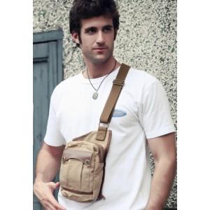 cotton canvas sling bag