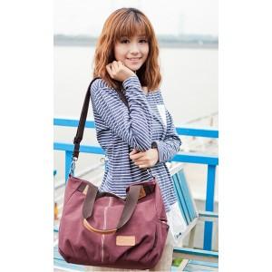 canvas Western style handbag