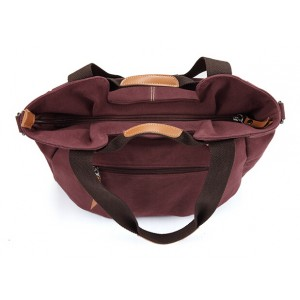 canvas crossbody handbag