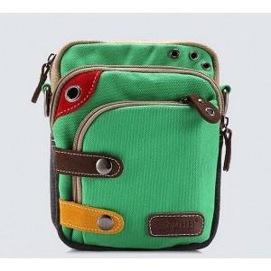 green small waist pack