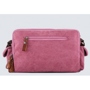 red Cheap canvas shoulder bag