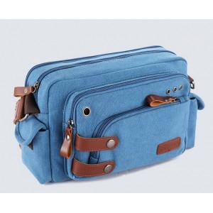 blue Cheap canvas shoulder bag
