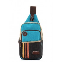 Single strap backpack, canvas knapsacks