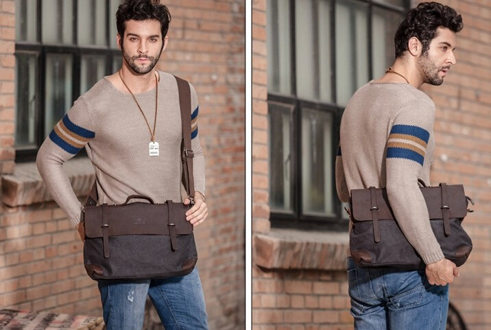 Messenger bags men, canvas shoulder bags - YEPBAG