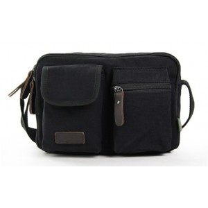 black Across the shoulder bag
