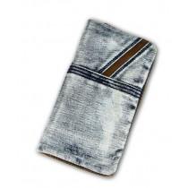 Blue jeans purse, cool bag