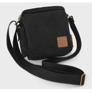black Crossbody messenger bags
