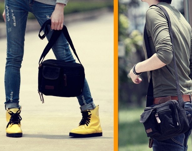 Across the shoulder bag, man shoulder bag - YEPBAG