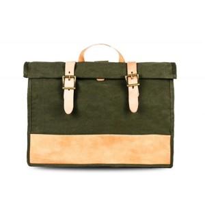 army green Satchel shoulder bag