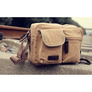 khaki Across the shoulder bag
