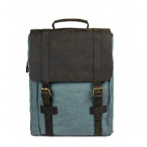 Canvas satchel backpack, bookbags