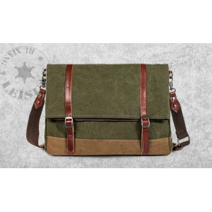 army green Mens messenger bags