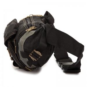 black Shoulder fanny pack