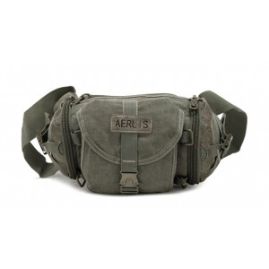 army green Shoulder fanny pack