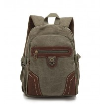 Back pack school, vintage canvas rucksack