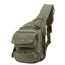 army green Sling shoulder pack