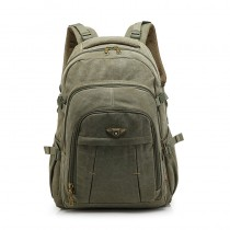 army green Netbook backpack