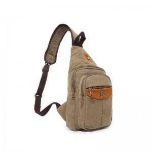 Small sling backpack khaki