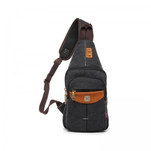black Small sling backpack