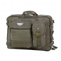 army green Canvas rucksack for men