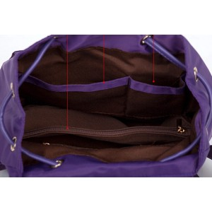 purple backpack for girls