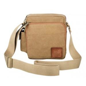 khaki Crossbody messenger bags