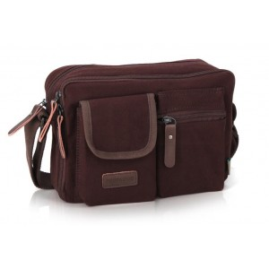 man's coffee shoulder bag