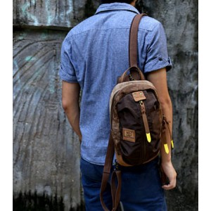 Canvas Backpack Style