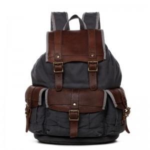 Mens Retro Drawstring Backpacks, Designs Computer Canvas Bag