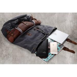 Mens Retro Drawstring Backpacks
