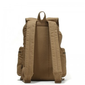 khaki High Quality Laptop Rucksack