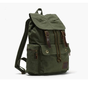 army green High Quality Laptop Rucksack