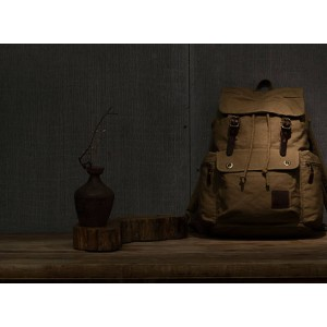 Unique Canvas High Quality Laptop Rucksack