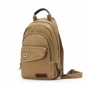 Classical unique canvas backpacks