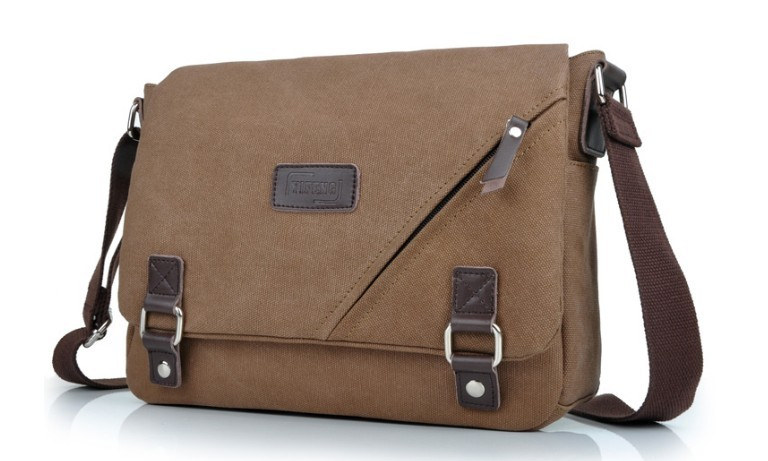 Ipad canvas satchel bag, mens messenger bags canvas - YEPBAG