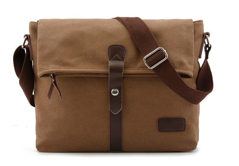 IPAD mens canvas messenger bag, mens canvas shoulder bags - YEPBAG 4ca14e440d