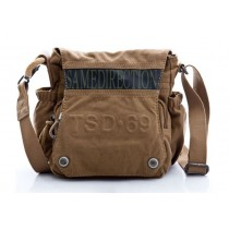 Canvas satchel bags for men, men's canvas messenger bag
