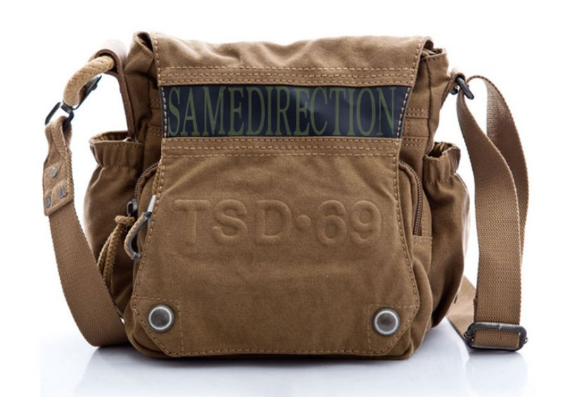 Canvas satchel bags for men, men's canvas messenger bag - YEPBAG