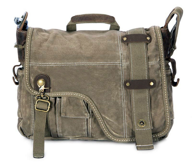 Canvas Satchel Bookbag