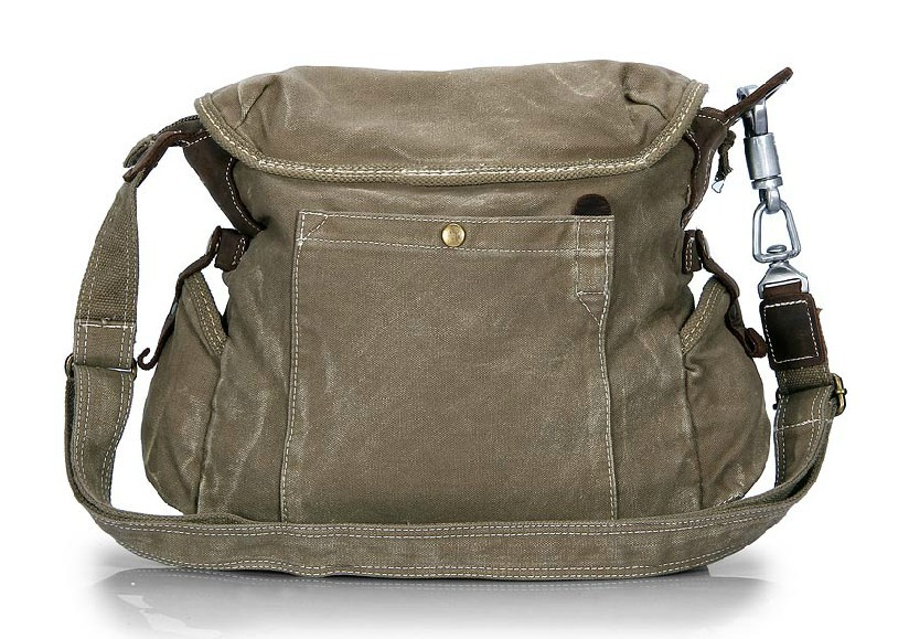 Men's messenger bags are a stylish alternative to an overly formal briefcase or an exceedingly casual backpack. Like all messenger bags, these men's bags are typically worn over one shoulder or across the body resting on the hip and consist of a top flap closure that helps secure and protect the bag.