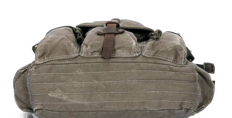 Army Green Vintage Canvas Messenger Bags Men