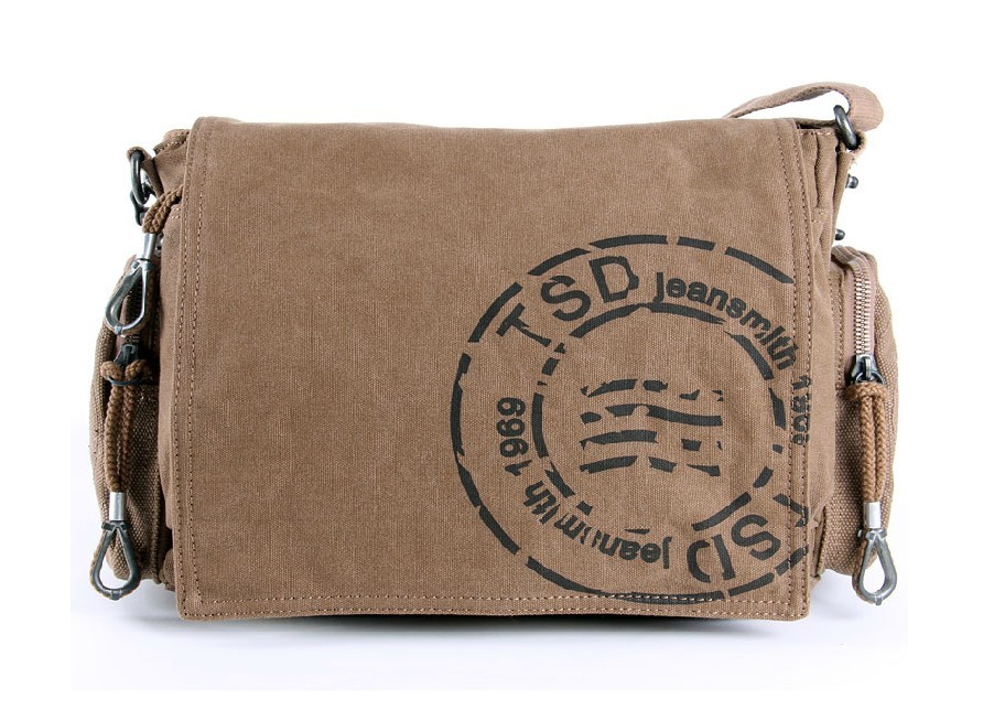 vintage canvas messenger bags for men canvas shoulder bag