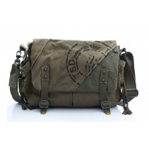Canvas shoulder bag mens, canvas satchel book bag